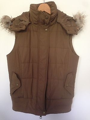 Witchery Puffer Vest Size S