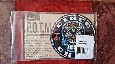 5.11 Tactical POTM May 2017 Limited Edition Cinco Once Patch of the Month 511041