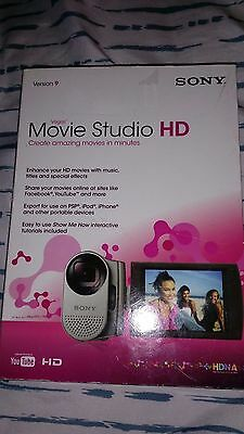 Sony Movie Studio HD Version 9