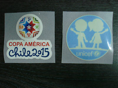 COPA America CHILE 2015 + UNICEF PU Patch