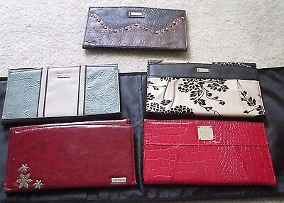 Miche Classic Purse Shell/Cover Lot of 5 in Black Valet Organizer/Carrying Case