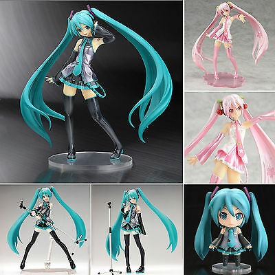 Anime Vocaloid Miku Hatsune Diva Action Figure Collection Toys Gift New With Box
