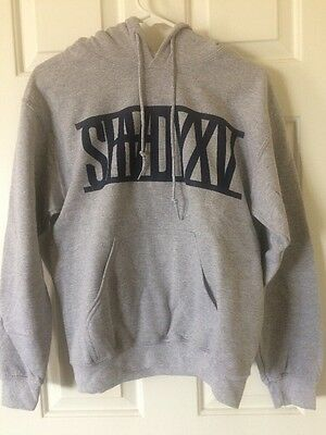 Eminem Shadyxv Hoodie Grey With Blue Limited Edition Rare Small