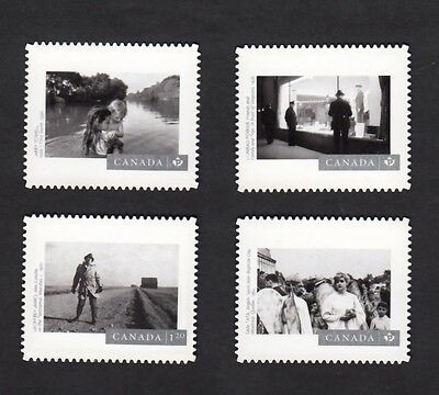 ca. PHOTOGRAPHY-3 set of 4 Quarterly Pack DIE CUT Canada2015 #2816,18,19,21 QP2