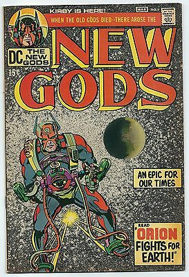 New Gods 1 early Appearance of Darkseid Kirby VG hot