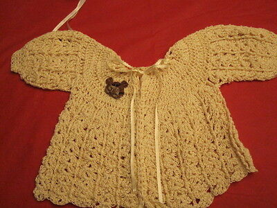 Custom Handmade Girls Baby Sweaters  Size Infant To 6 Mo.14.99 Sale