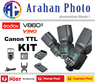Godox Ving V860II-C TTL Li-ion HSS Flash Built In X Receiver