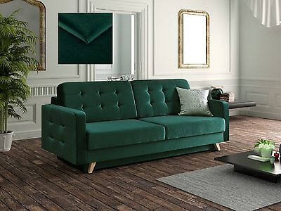 - VEGAS - 3 seater Sofa Fabric Comfy Couch