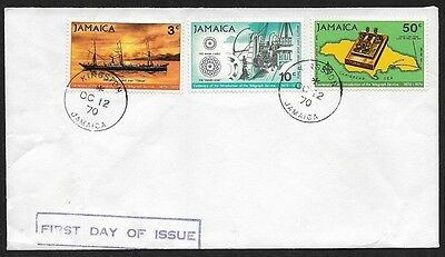 (111cents) Jamaica 1970 First Day Cover