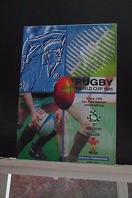 1995 WORLD CUP IRELAND V WALES   rugby union
