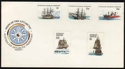 AAT 1980 FDC Ships of the Antarctic Series II - Unfranked (b)