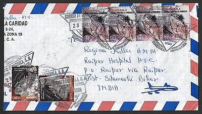 (111cents) Guatemala 2006 Cover to India