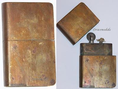 France Trench Art WW1 Lighter Military French Book WWI 1914 Great War Patriotic