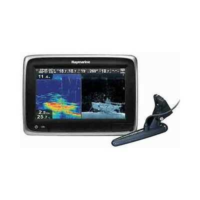 "RAYMARINE a78 7"" Multifunctional Display CHIRP DownVision Fishfinder Wi-Fi"