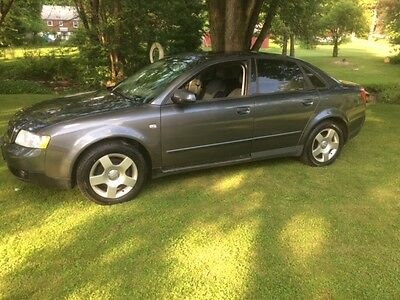 2003 Audi A4  Audi A4  fully loaded 5 speed 1.8 Turbo