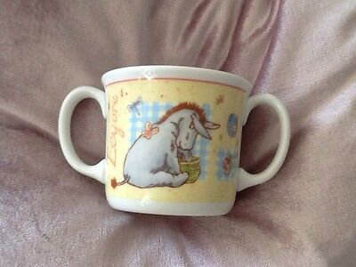 Royal Doulton Winnie The Pooh Two-Handled Fine China Cup/Mug