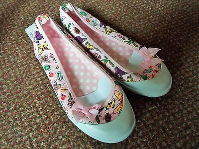 new H+M pink butterfly Size 1 Shoes / pumps - summer