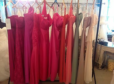 BNWT 30 X MORILEE/ROMANTICA BRIDESMAID PROM DRESSES. ALL NEW WITH TAGs. JOB LOT!