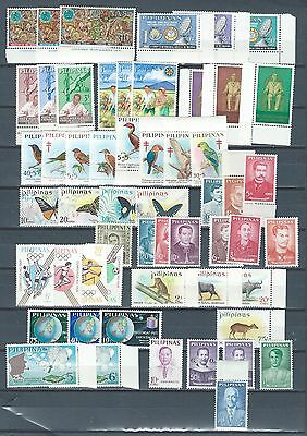 Phillipines Pilipinas excellent selection of mnh stamps and sets - 6 scans