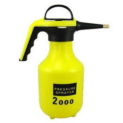 2L Hand Pressure Spray Kettle Flowers Plants Watering Pot Can Gardening Tools