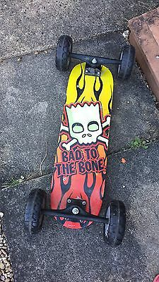 Bart Simpson Mountain board Skateboard Kiteboard POSTAGE AVAILABLE