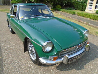1972  Mgb Gt, Webasto Roof And Wire Wheels. (Restored Car)