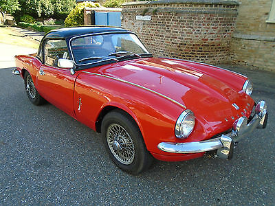 1967 TRIUMPH SPITFIRE MKIII 1296cc EARLY MODEL.
