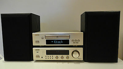 Denon DRA-F100 HiFi Component System CD,Tuner,Amp + Nad 2-Way Speakers
