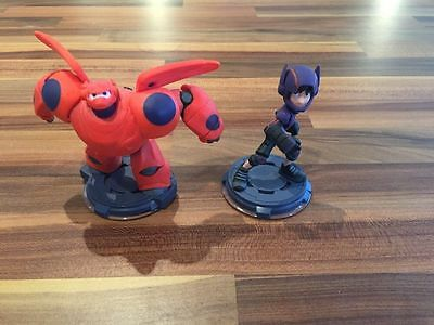 Disney Infinity Hiro and Baymax Figures Bulk Lot 2.0 & 3.0 Big Hero 6 Six Rare