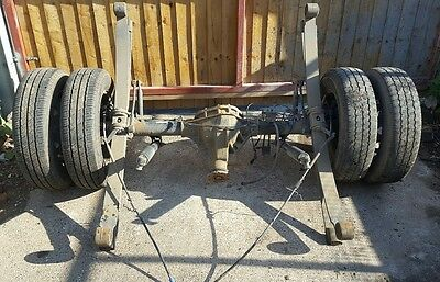 Ford Transit Mk7 twin wheel axle complete