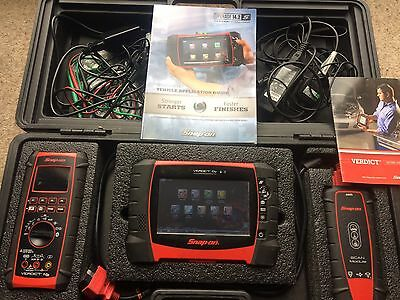 snap on diagnostic Scanner Module And Meter Verdict D7 Complete Device .