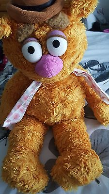 Offical Disney Store Muppets Fozzie Beae Plush Soft Toy Jim Henson Collectable