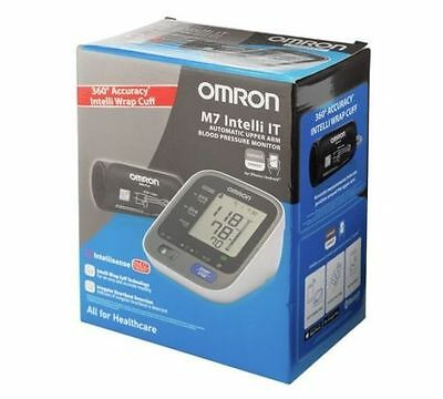 Omron M7 Intelli IT - 360° Accuracy - Auto Upper Arm Blood Pressure Monitor