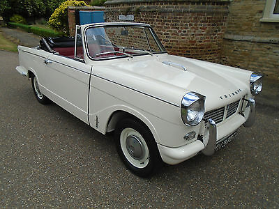 1965 Triumph Herald Convertible 1200 (Early Model)
