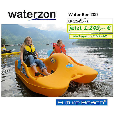 Future Beach Water Bee™ WB200 Tretboot Pedalboot, made in Canada, TÜV-geprüft