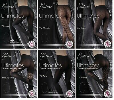 Adults Couture Ultimates Tights Seamless Ladder-proof  Design