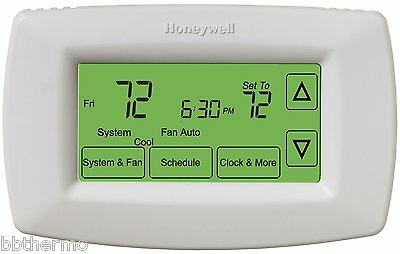 THERMOSTAT ducted heating, heater, Honeywell, suits Brivis, etc touch screen ope