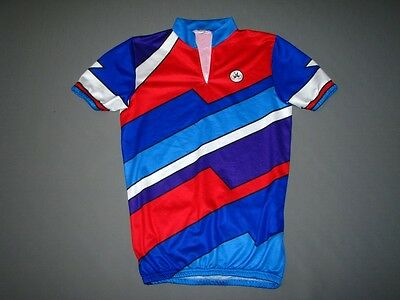 VINTAGE JL  BICYCLE CYCLING BIKE CYCLE JERSEY SHIRT S (S/M)   Made in Belgium