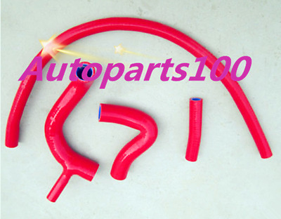 RED Silicone Radiateur hose for AUSTIN ROVER MINI COOPER S 1275 GT CLUBMAN -1989