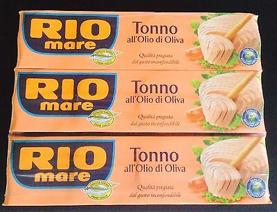 Rio Mare Tuna In Olive Oil - 12 x 80g Tins (960g Total Weight)