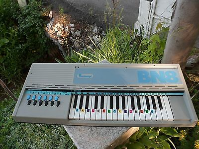 Vintage 1970's Bontempi BN8 Electronic Keyboard Air Powered Italy H 1330200