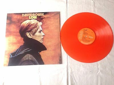 David Bowie Low Lp Stereo Orange Vinyl Uk Rca Victor Re New.