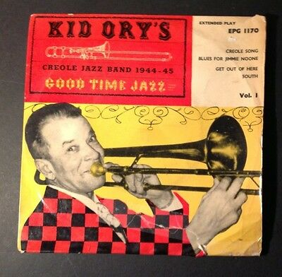 Kid Ory's  Creole Jazz Band   - French