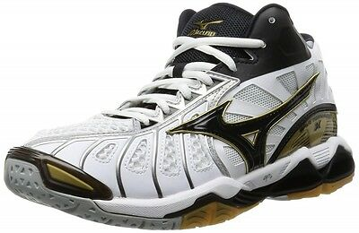 MIZUNO Wave TORNADO X MID Volleyball Shoes White V1GA1617 New With Tracking