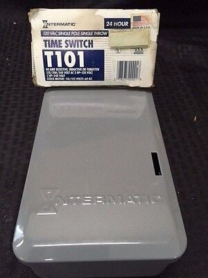 Intermatic T101 24 Hour Mechanical Time Switch