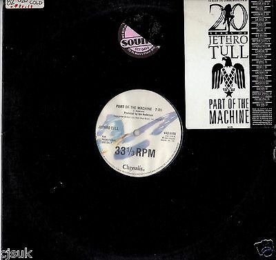 """JETHRO TULL Part of the Machine Vinyl 12"""" Promotional Copy 1988 Ian Anderson"""
