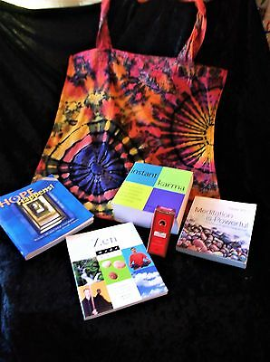 "L@@k!""instant Karma/ Meditation"" New Age Boho Hippie Bargain Grab Bag Lot - Bb11"