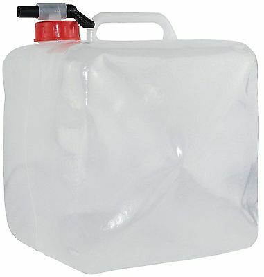 Yellowstone 10L Litre Collapsible Water Carrier Container Camping Outdoor Tap