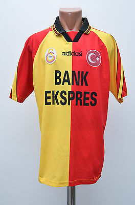 Galatasaray Turkey 1997/1998 Home Football Shirt Jersey Trikot Adidas
