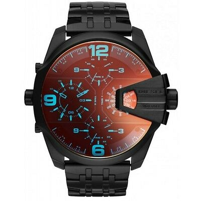 NEW DIESEL DZ7373  Men's Uber Chief Chronograph Watch